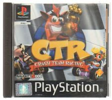 CTR CRASH TEAM RACING Videogioco PS1 PLAYSTATION PAL ITA Completo di Manuale