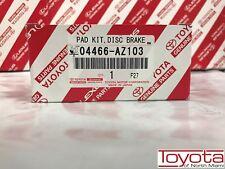 2002-2018 Toyota 4Runner Rear Genuine OEM Brake Pads 04466-AZ103