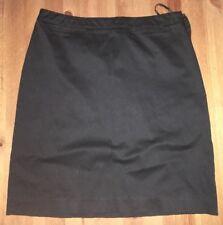 Valerie Stevens Women's Size 12P Petite Black Skirt.    B13