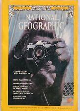 Vintage National Geographic Magazine October 1978 Vol. 154, #4 Gorilla Talk