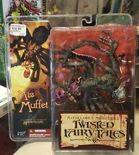 Mcfarlane Monsters Twisted Fairy Tales Miss Muffet Action Figure