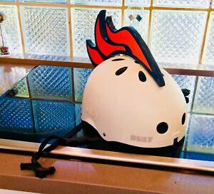 Broncos of Denver bicycle helmet