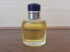 DOLCE & GABBANA POUR HOMME 75ML after shave lotion 75ml 2.5 oz full without box