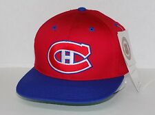 Vtg 90's Sports Specialties Montreal Canadiens Snapback Logo Hat Cap NWT