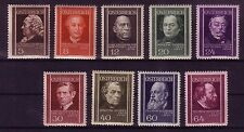 Österreich Michelnummer 649 - 657 postfrisch