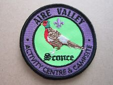 The Mountain Centre Cloth Patch Badge Boy Scouts Scouting L4K C