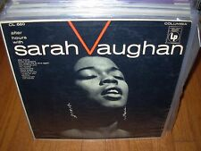 SARAH VAUGHAN after hours with ( jazz ) 6 eye