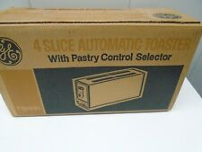 General Electric 4 Slice Automatic Toaster with Pastry Control Selector, T124HR