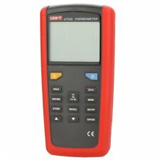 UNI-T UT325 Digital Thermometer Temperature Meter Tester T1-T2 Dual Input with H