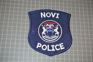 Novi Michigan Police Patch (B17-7)