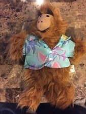 Vintage 1988 Alf in Hawaiian Shirt  Hand Puppet by Alien Productions