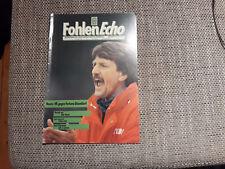 Programm Borussia Mönchengladbach - Fortuna Düsseldorf 91/92