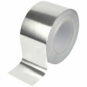 Aluminium Tape Heat Resistant For Ducting Seals Joins Exhaust Repairs Reflective