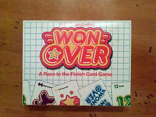 WON OVER CARD GAME (1983 Parker Brothers)