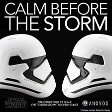 Anovos Star Wars The Force Awakens First Order Stormtrooper 1:1 Scale Helmet