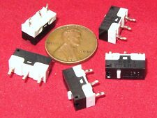 5 pcs Honeywell ZX10 MicroSwitch Momentary .1A 48VDC 125VAC Plunger SPDT Micro P