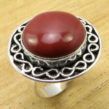 Jewelry & Watches Nice Y3853 Birds Eye Jasper 925 Silver Plated Ring Us 6.5 Moderate Price