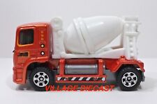 2008 Matchbox #62 MBX® Mixer ORANGE METALLIC / QUIK CEMENT / NO RIBS / MINT