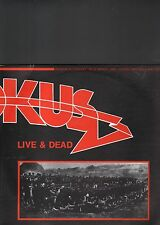 KROKUS - live & dead LP
