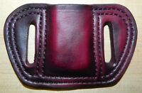 Gary C's Leather MAG Pouch for .380 magazine, fits Glock  42 mag