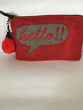 Ladies Red  Mango Signature Theme Evening Party Clutch Bag Small Purse
