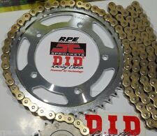 HONDA CBR600RR '07-16 DID GOLD X-Ring  CHAIN AND SPROCKETS KIT *OEM or Quick Acc