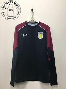 Aston Villa Under Armour Football Training Leisure top Men's Medium