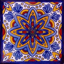 90 Mexican Tiles Talavera Ceramic Handmade Mexico #C124