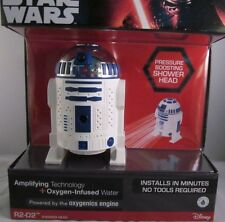 New Disney Star Wars Shower Head R2-D2 3-Spray Fixed Bath Showerhead