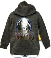 Marvel Avengers BLACK PANTHER Boy's Hoodie Fleece Pullover Sweatshirt (Size 5)