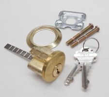 ILCO RIM LOCK CYLINDER - Schlage SC1 Keyway, US3,  for door or overhead garage