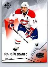(HCW) 2015-16 Upper Deck SP Authentic #31 Tomas Plekanec Canadiens