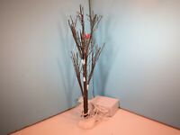 Dept 56-Lighted Christmas Bare Branch Tree-Christmas Village Accessories-NIB