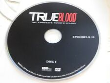 True Blood Fourth Season 4 Disc 4 DVD Disc Only 35-45