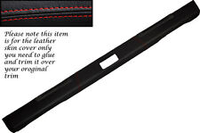 RED Stitch adatta Land Rover Defender 90 110 83-06 TOP DASH Dashboard Copertura
