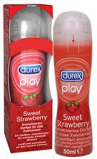 Lubrificante intimo al gusto fragola - Durex Play Sweet Strawberry 50ML SEXY