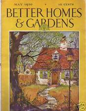 1930 Better Homes & Gardens May- Helen Keller; F. Fox