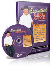 ESSENTIAL LINE DANCE vol 1 Video Trautman Lessons DVD NIB