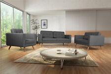 Sofagarnitur Polstesofa 3+2+1 Couch Sofa RHODOS Set Wohnlandscht 3-Sitzer 06