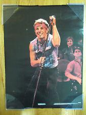 Vintage Bruce Springsteen On Stage Poster