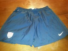 USA men's soccer team training shorts worn by players