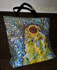 GUSTAV KLIMT Sunflower Flower TOTE SHOPPING BAG FINE ART PRINT CANVAS GIFT