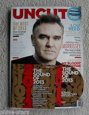 Morrissey Smiths Magazine & Cd Uncut Uk Rock Pop Music Lou Reed