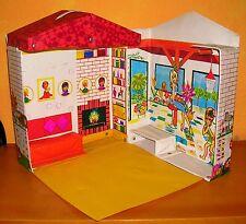 Villa Petra Plasty / Puppenstube Puppenhaus 1970er Kunststoff