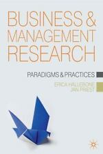Business and Management Research : Paradigms and Practices by Jan Priest,...
