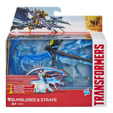 TRANSFORMERS BUMBLEBEE & STRAFE DINO SPARKERS FIGURE PLAY SET TOY