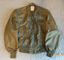 US Air Force USAF CWU-36/P jacket, nomex, size Large, by Valley Apparel