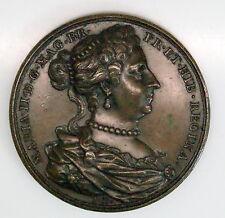 "NICE! Rare Mary II England ""Educator & Good Mother"" C. 1850 Medal"