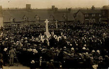 Harling near Thetford. War Memorial Unveiling # 8.