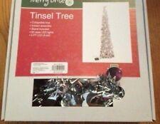 1 Nib 4 Ft. Tinsel Tree-Instant Assembly Nrfb